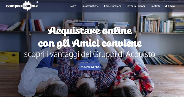 Noicattaro. Start-up Compra con me intero