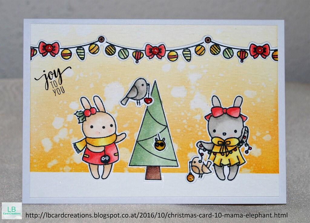 Christmas Cards 2016 #10   Mama Elephant   My 10th Christmas…   Flickr