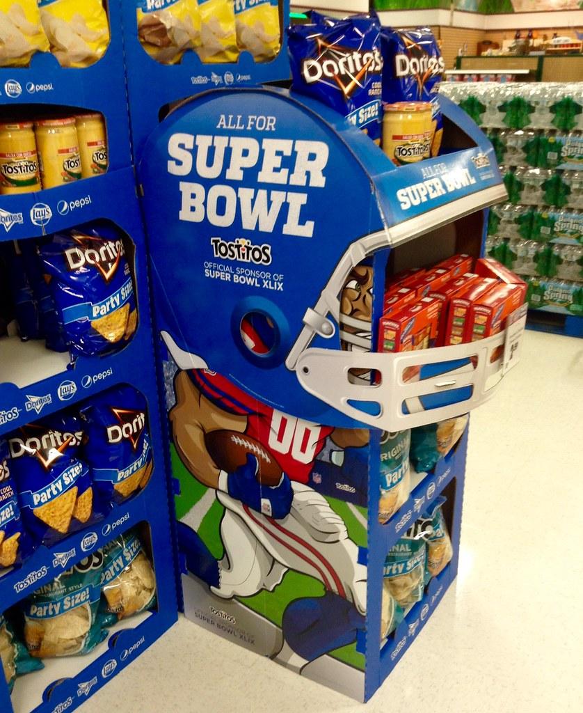 Super Bowl 2015 | Super Bowl XLIX 2015, Doritos Lays Display… | Flickr