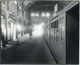 Northbound platform at Dudley Station | by City of Boston Archives