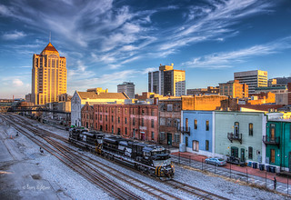 Town and Train - Roanoke City Virginia | by Terry Aldhizer