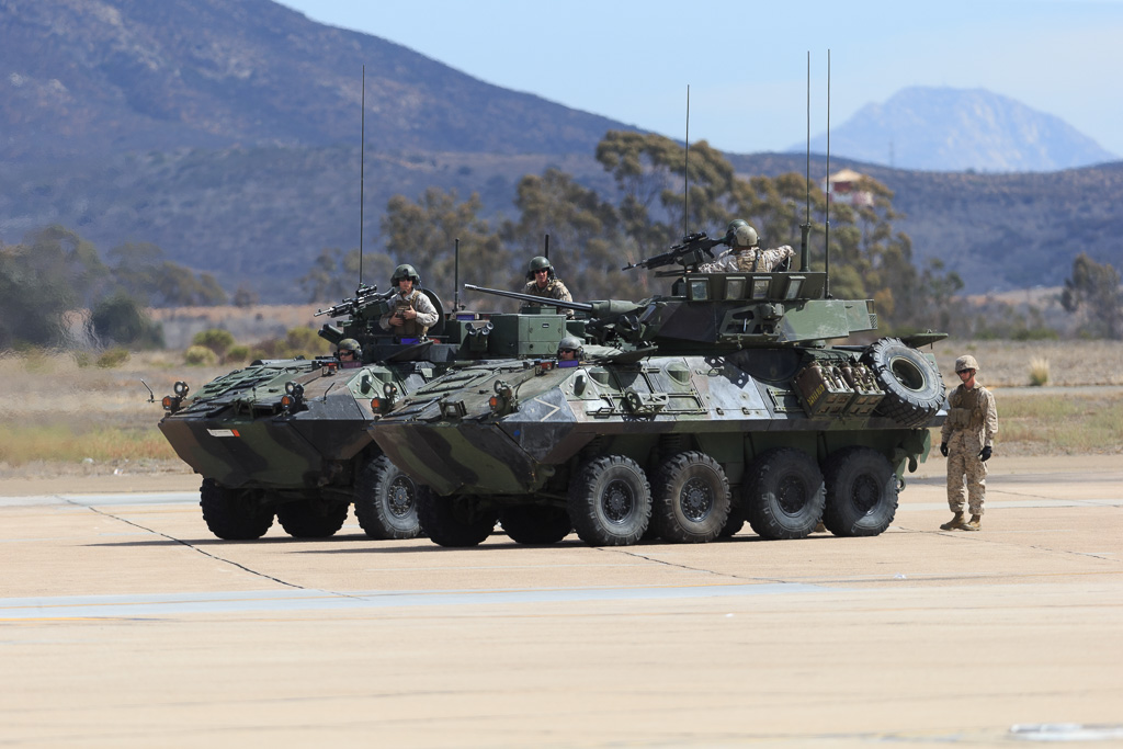 ... LAV 25 Light Armored Vehicle | By Norman Graf