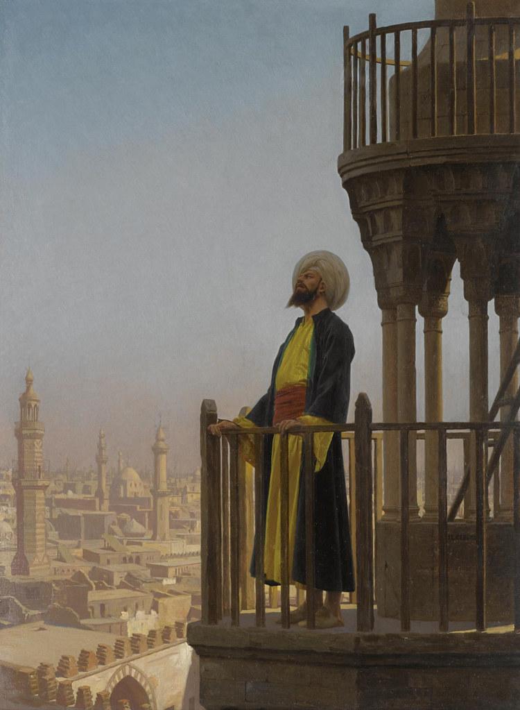 Jean-Léon Gérôme - Le Muezzin [1865]