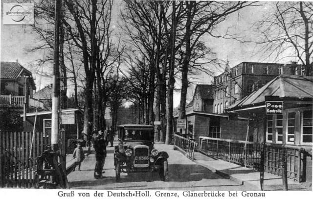 Grensovergang 1930~ Glanerbrücke (2)