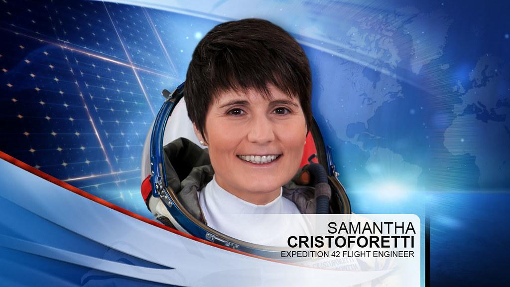 Expedition 42 Flight Engineer Samantha Cristoforetti Flickr