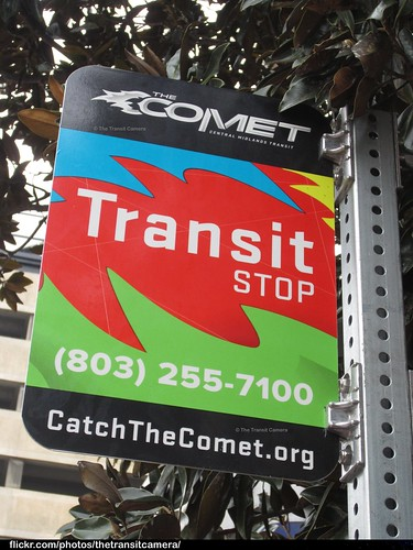 Central Midlands RTA Bus Stop Sign