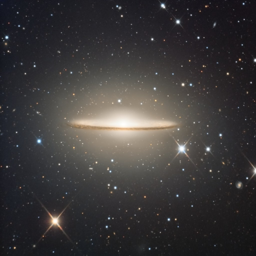 M104 The Sombrero Galaxy Or Ngc 4594 Explored Data For Flickr