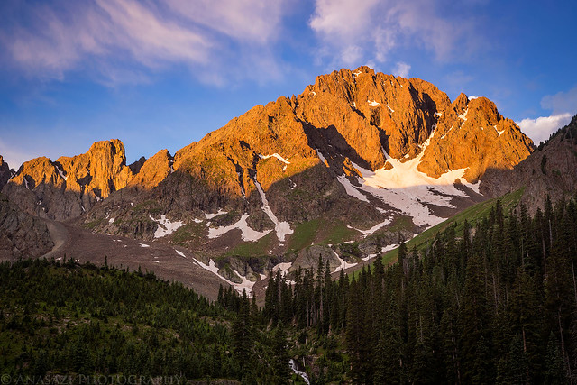 Mount Sneffels Sunrise