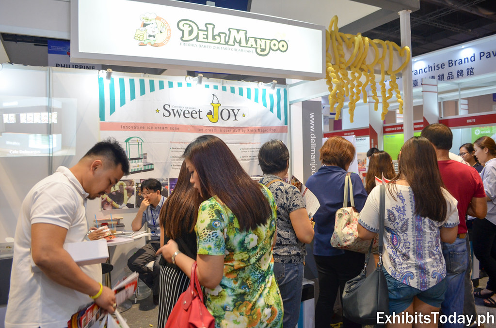 Delimanjoo Booth at Korea Pavilion