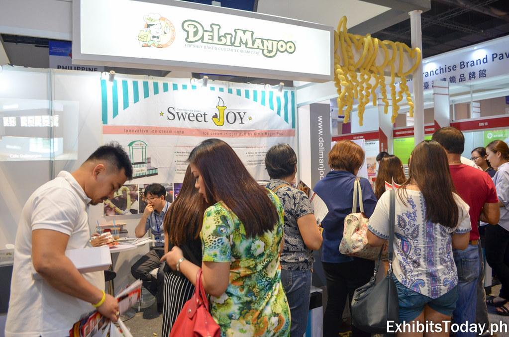 Delimanjoo Booth at Korea Pavilion