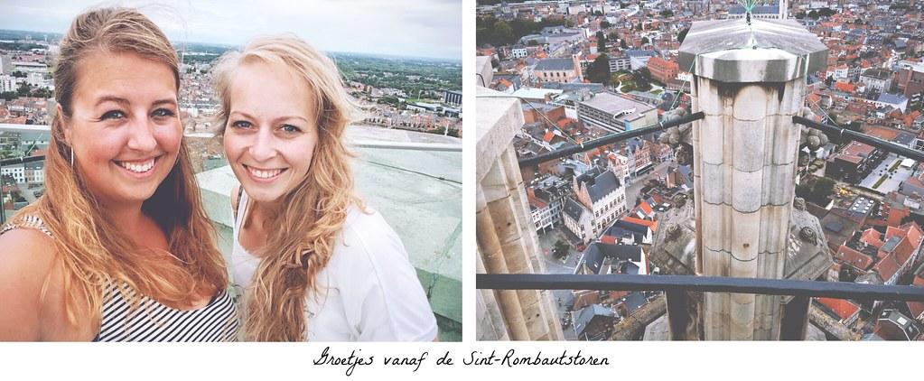 Uitzicht op Mechelen vanaf de Sint-Romboutstoren | via It's Travel O'Clock