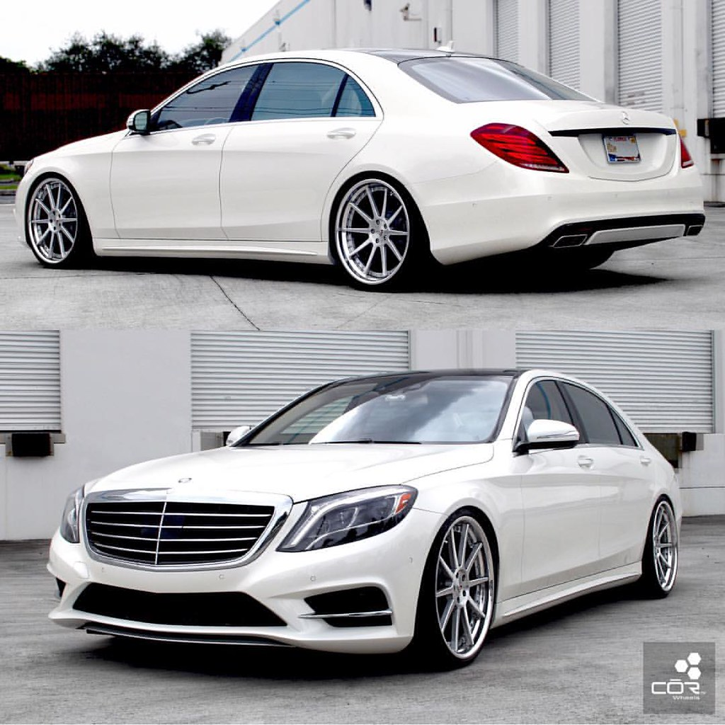 amg s550 lowered on a set of 22quot cor ciphers and keeping l