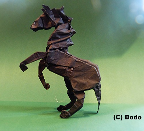 Horse | by bodorigami