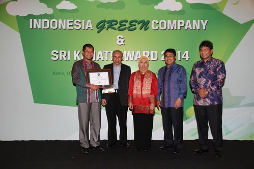 Indonesia Green Company & SRI KEHATI Award 2014