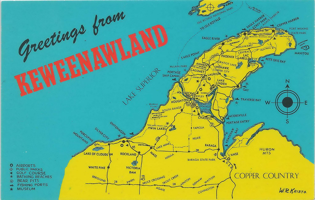 Keweenaw Bay Michigan Map Image Collections Diagram