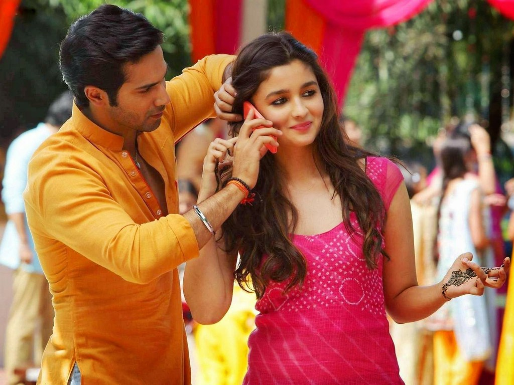 Alia Bhatt And Varun Dhawan HD Wallpaper