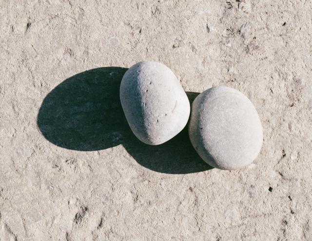 shadowy pebbles at penarth