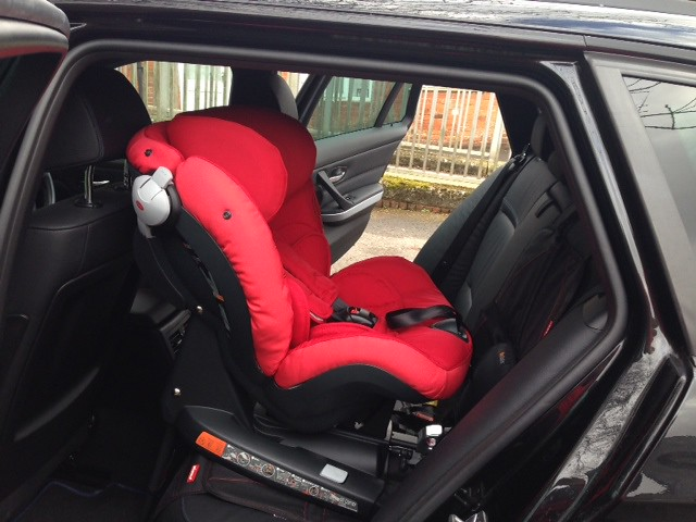 Besafe Izi Combi X3 Isofix Fully Extended In A Bmw 3 Serie