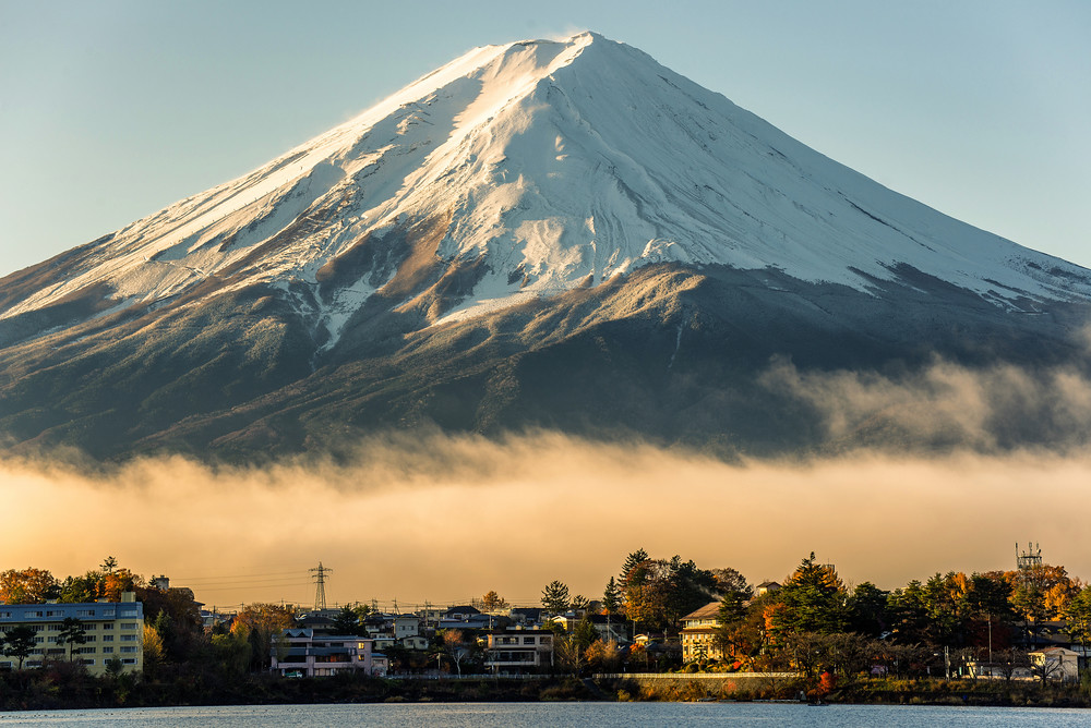 Yep, Mount Fuji is an active volcano. Now where are the Vulpix? (Image credit: Shutterstock)