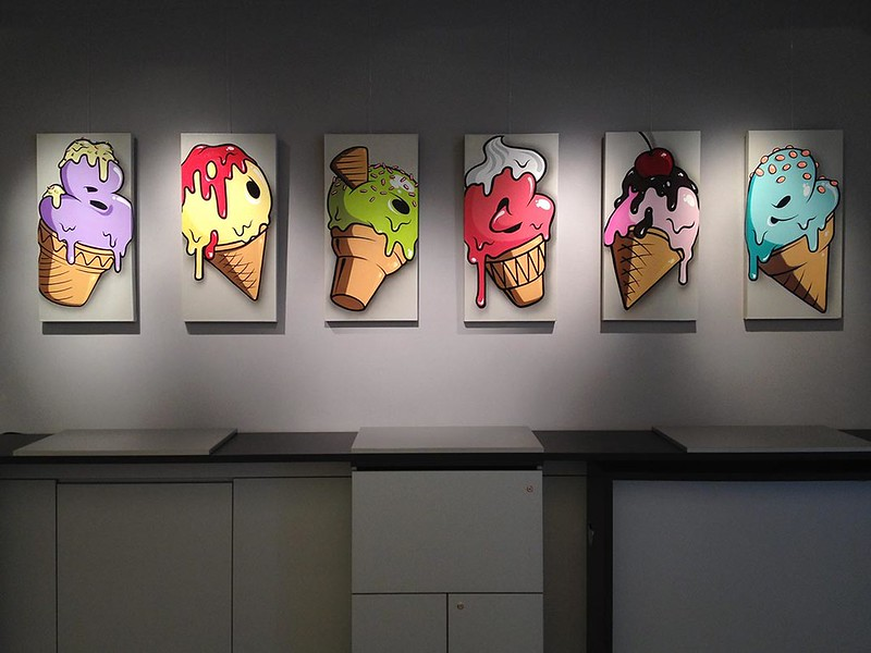 Canvas-Icecream-series