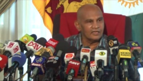 Media Conference on Jaffna University Issue
