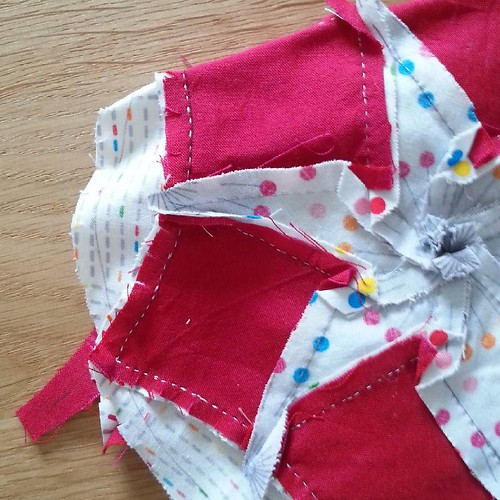 #sewphotohop Favourite technique I love all kinds of hand sewing, particularly hand piecing. I love the way it enables me to easily and accurately sew pieces together which would be tricky on a machine and I love the slower process and the connection it g