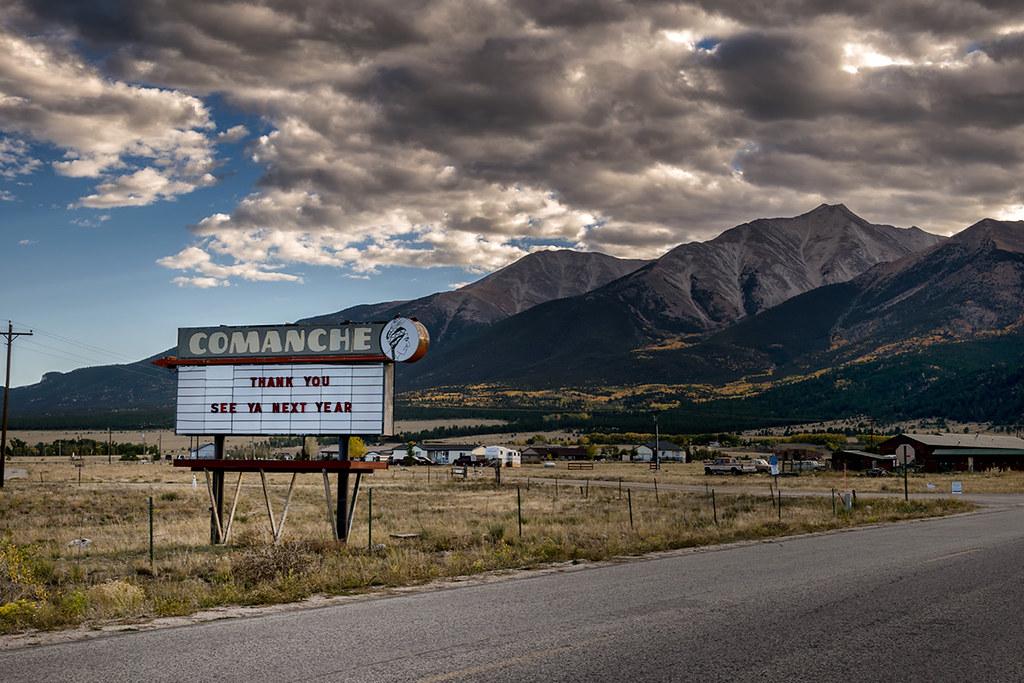 Comanche Drive-In, Buena Vista, Colorado