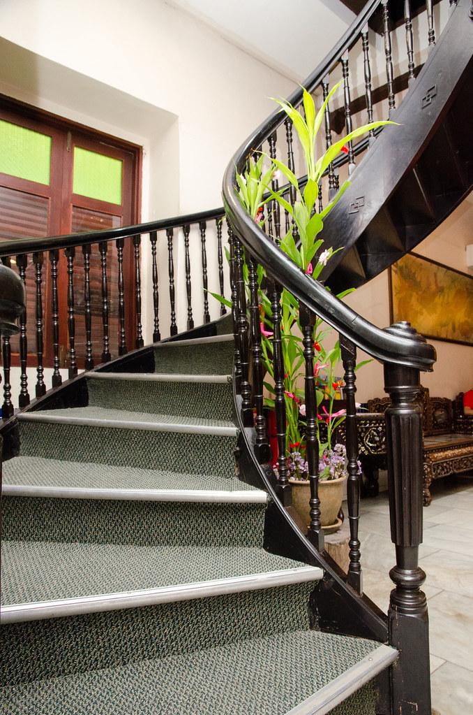 Hotel Puri Melaka's Spiral Stairs