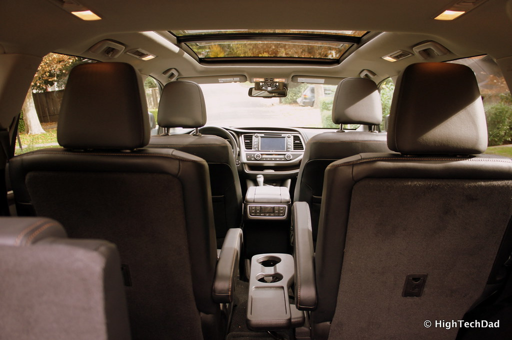 ... Interior   2014 Toyota Highlander Limited Platinum | By HighTechDad