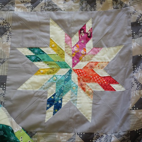 Quilting has begun! | by Penny Poppleton