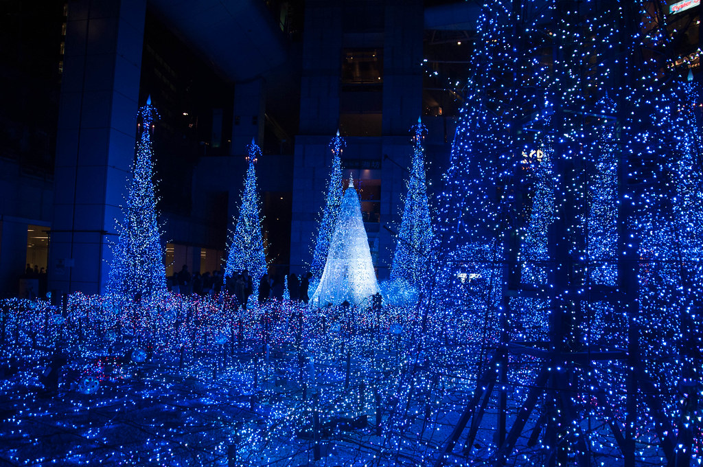 All sizes   Caretta Shiodome Christmas Illumination   Flickr - Photo ...