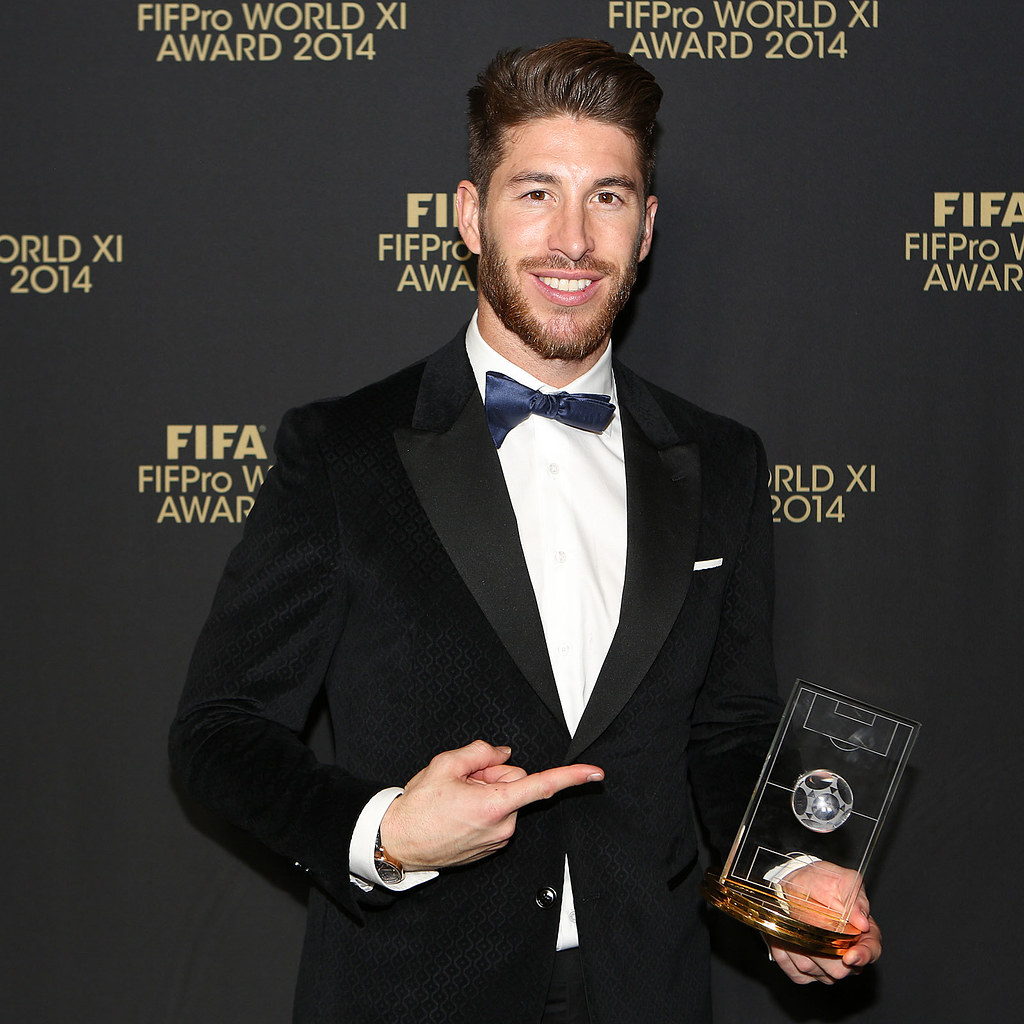 Sergio Ramos Fifpro Meets Fifa Fifpro World Xi 2014
