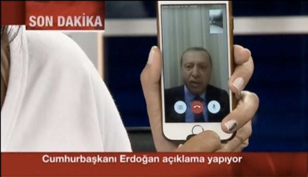 Turkey President Recep Tayyip Erdogan, is how new media of the foiled coup?