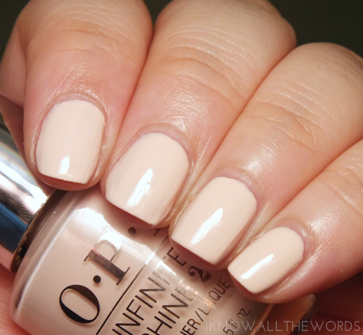 opi staying neutral on this one infinite shine summer 2016