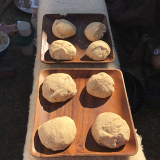 Bread rolls sitting in a sunny spot to rise | by mimbles