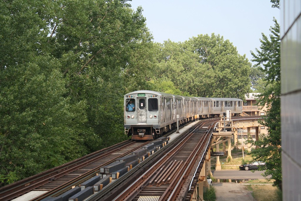 Trip On Car >> 2400-series on the Green Line | A four-car train of 2400-ser… | Flickr