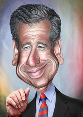 Brian Williams - Caricature