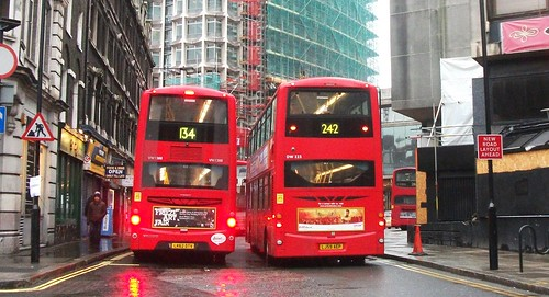 Metroline Vw1388 On Route 134 Amp Arriva London Dw223 On Rou