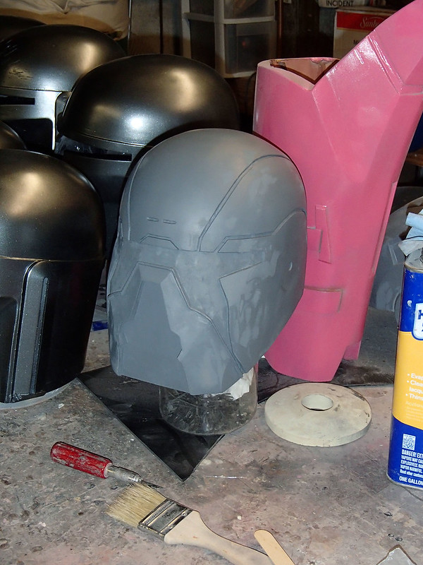 Shae Helmet Progress