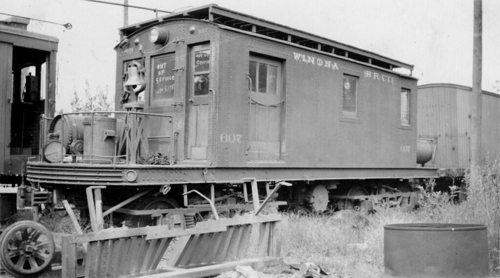 winona railroad company 607 warsaw in winona railroad c flickr. Black Bedroom Furniture Sets. Home Design Ideas