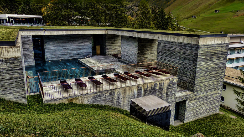 Top The Therme Vals / Peter Zumthor | Peter Zumthor designed the… | Flickr WE27