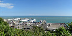 Dover Eastern Docks from above