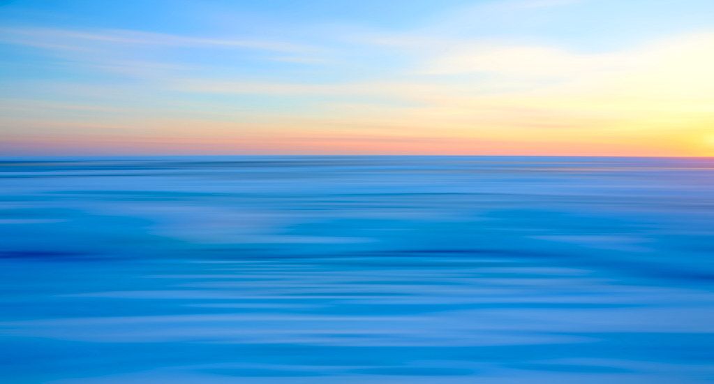 Winter Ocean (Long Exposure) | Chatham, Cape Cod Using a ...