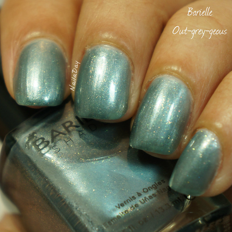 NailaDay: Stash Swatch - Barielle Out-grey-geous