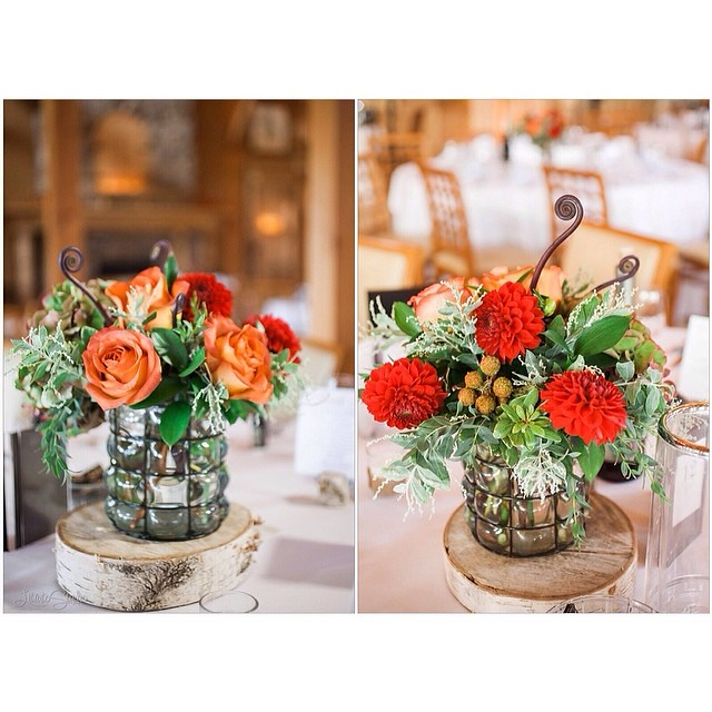 Table Center Piece Wedding Reception Details Callie Be Flickr