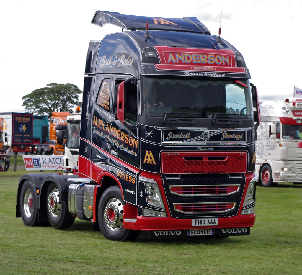 Alex Anderson Of Bo Ness Volvo Fh Fh13aaa At Truckfest Sco