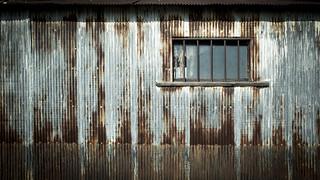 corrugated iron Iron