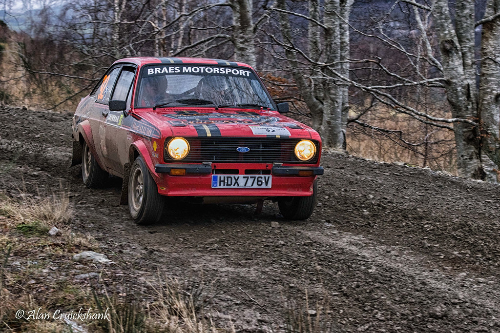 Scottish Snowman Rally 2015. Ford Escort mk2 | Scottish Snow… | Flickr