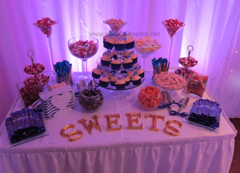 Wedding Sweet Table, Purple Theme | Wedding Candy Buffet at … | Flickr
