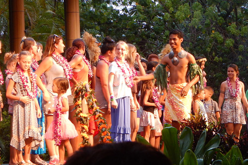 DSCN2447A - Kidlet Dancing At The Polynesian Cultural Center